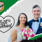 Nowożeńcy Daria i Mateusz